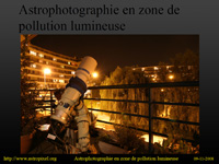 pr�sentation ppt : astrophotographie en zone de pollution lumineuse